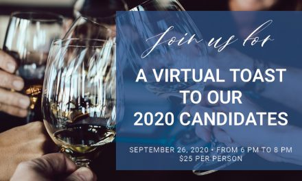 Join Us For A Virtual Toast To Our Candidates