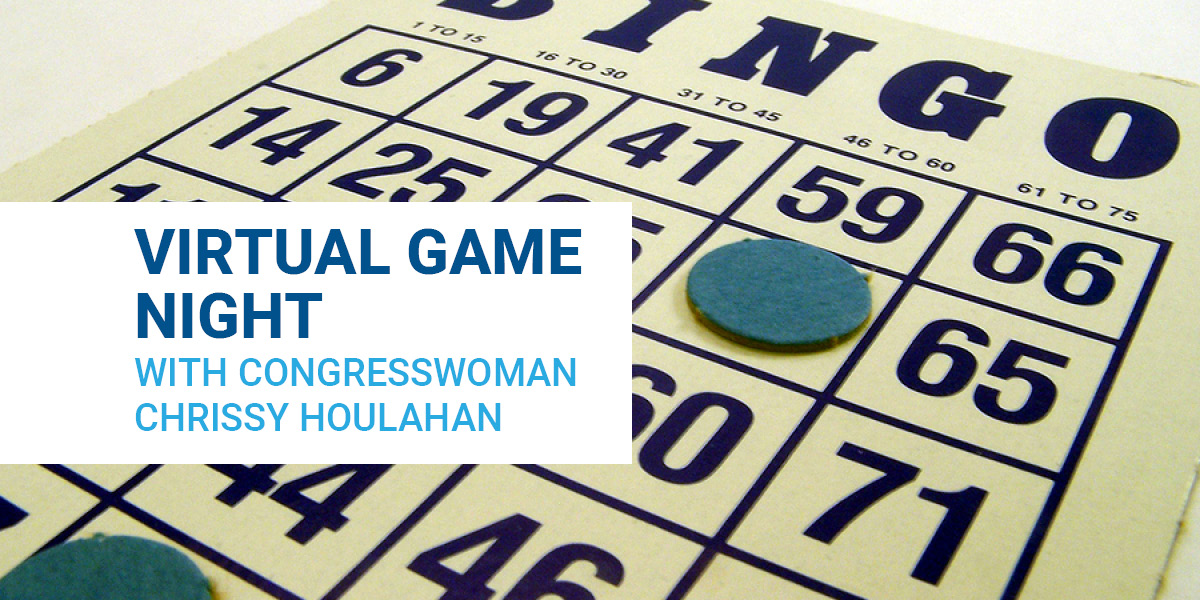 Virtual Game Night Event With Congresswoman Chrissy Houlahan