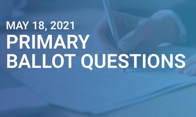 May Primary Ballot Questions