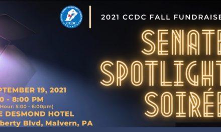 2021 CCDC Fall Fundraiser: Senate Spotlight Soirée