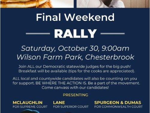 The Last Push – Breakfast and Canvassing